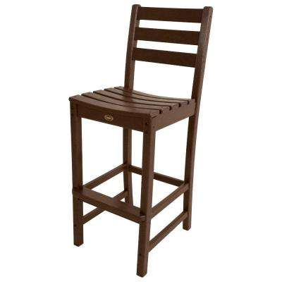 Monterey Bay Vintage Lantern Patio Bar Side Chair