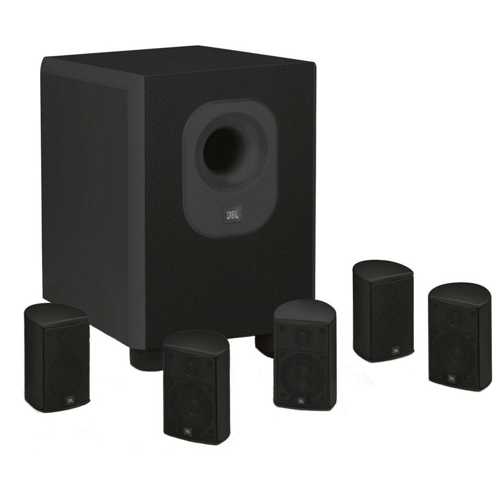 Architectural Edition Powered by JBL 5.1-Channel Home Theatre System in Black