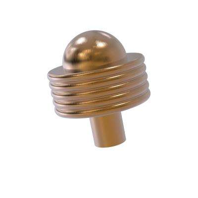 1-1/2 in. Cabinet Knob in Brushed Bronze