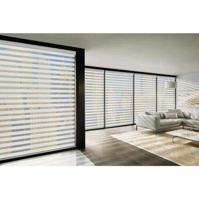 Installed Designer Banded Shades