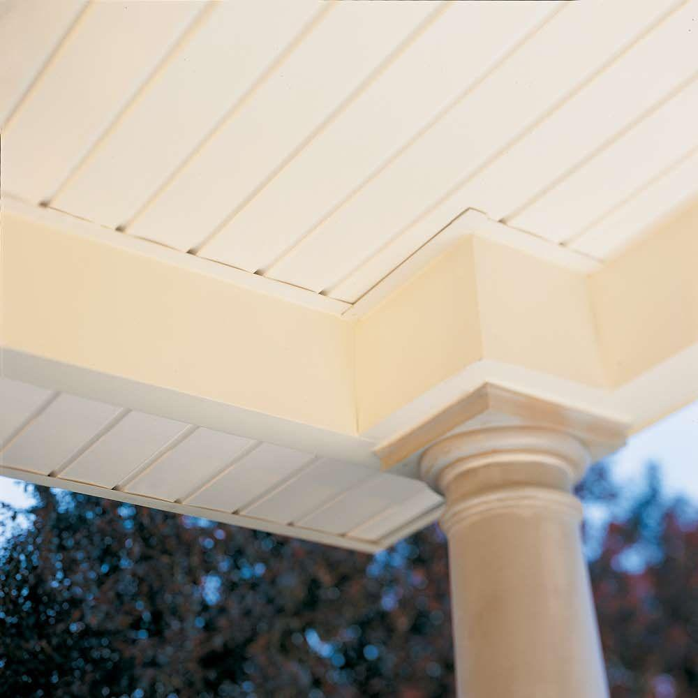 Ply Gem 11 25 In X 0 5 In Rectangular White Weather Resistant Vinyl Soffit Vent Evs12p04h The Home Depot