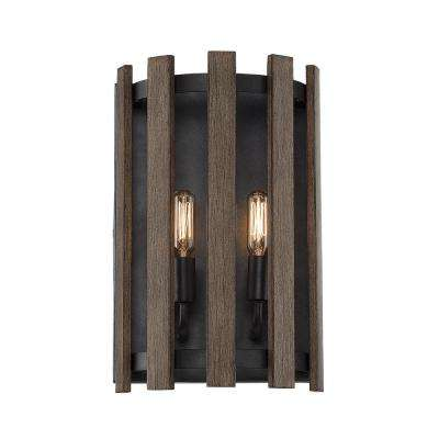 solid wall holder sconces pair of wood rustic gothic arch sconce pin candle plank huge