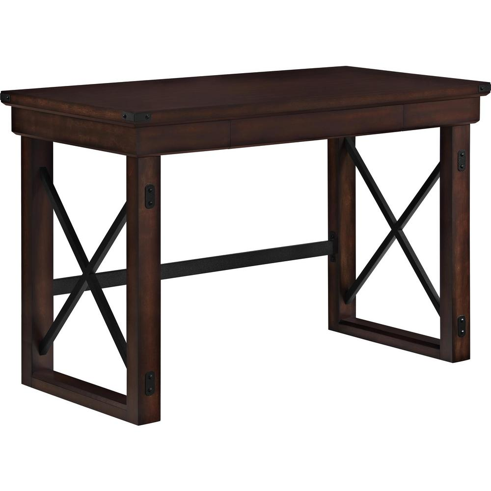 Ameriwood forest grove mahogany desk hd75933 the home depot for Forest grove plumbing