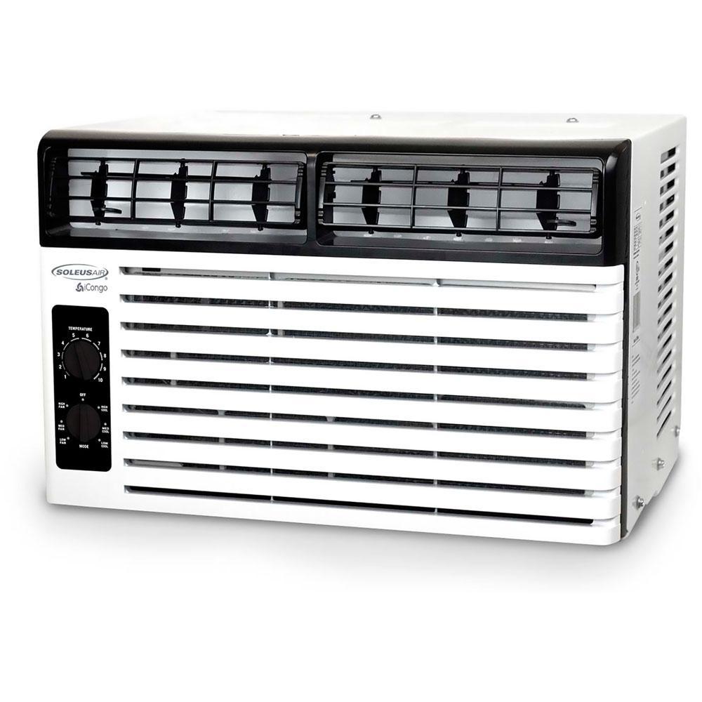 Soleus air 8000 btu portable air conditioner - Soleus Air 5 400 Btu 115 Volt Window Air Conditioner With Mechanical Controls