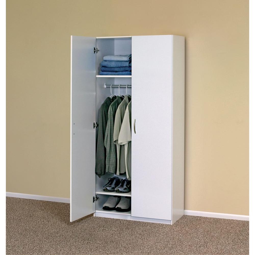 Closetmaid 20 5 In D X 29 62 W, Wardrobe Cabinet Home Depot