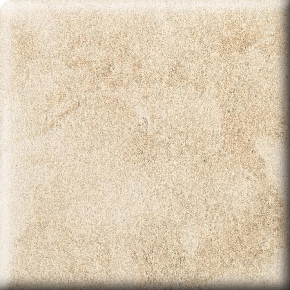 Developed by Nature Rapolano 2 in. x 2 in. Ceramic Bullnose Corner Wall Tile (2-Pack)