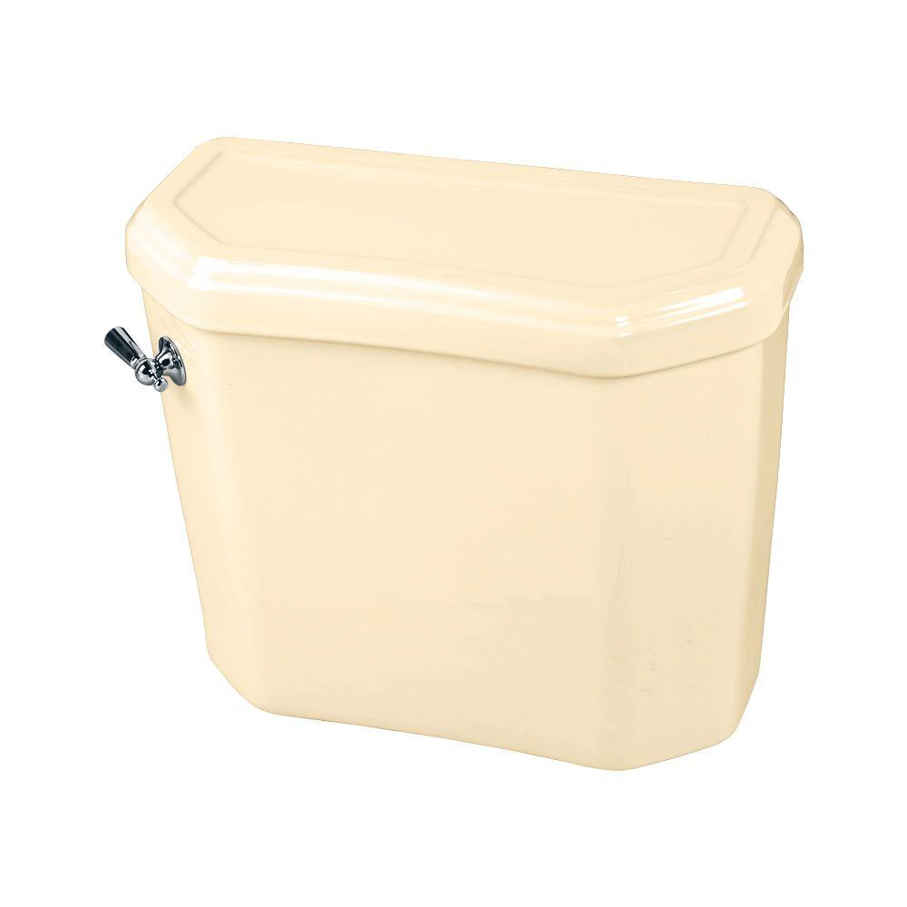American Standard Portsmouth Champion 4 1.6 GPF Single Flush Toilet Tank Only in Bone