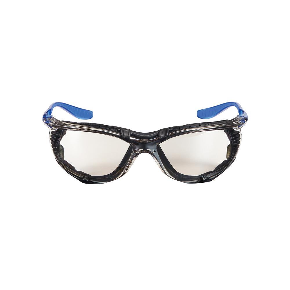 Performance Eyewear Foam-Gasket Design Safety Glasses with Indoor/Outdoor Anti-Fog Mirror Lenses