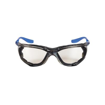 Performance Eyewear Foam-Gasket Design Safety Glasses with Indoor/Outdoor Anti-Fog Mirror Lenses