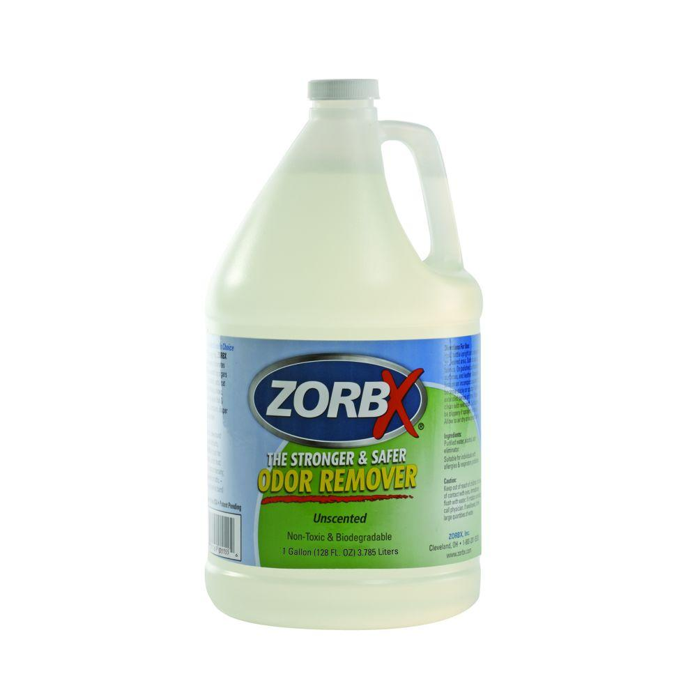 Zorbx 1 gal unscented non toxic hypo allergenic and for Unscented bathroom deodorizer