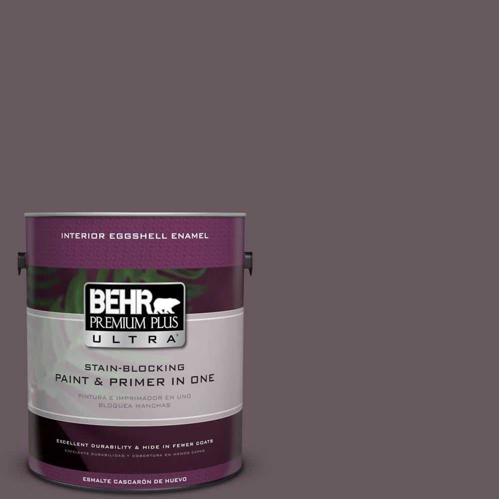 BEHR Premium Plus Ultra 1-gal. #N100-6 Urban Legend Eggshell Enamel Interior Paint