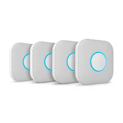 Nest Protect Wired Smoke and Carbon Monoxide Detector (4-Pack)