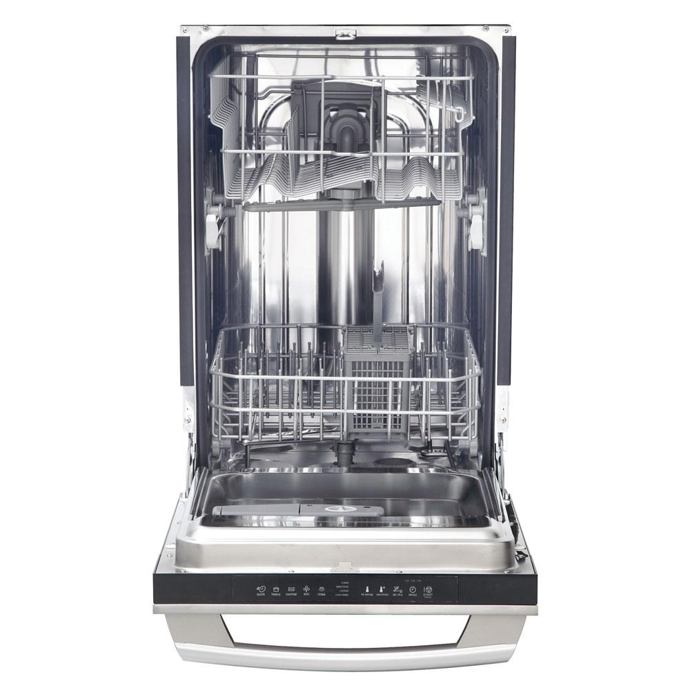 Electrolux Iq Touch 18 In Top Control Dishwasher In Stainless