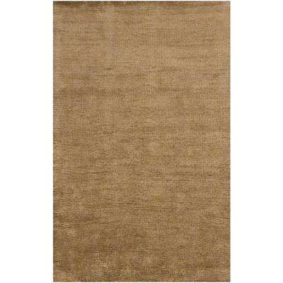 Capra Light Brown 5 ft. x 7 ft. 6 in. Indoor Area Rug