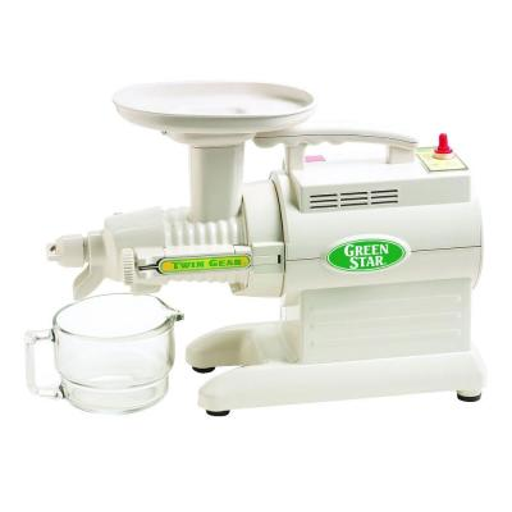 Greenstar Original 24 fl. oz. White Cold Press Juicer