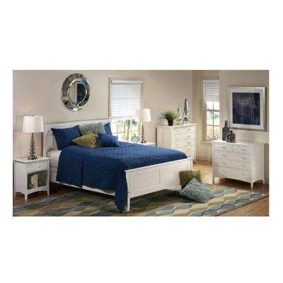 Hawthorne White King Bed Frame