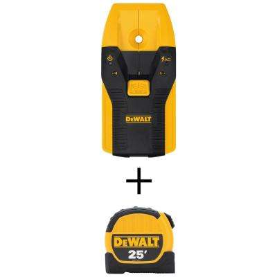 3/4 in. Stud Finder and 25 ft. Tape Measure Combo