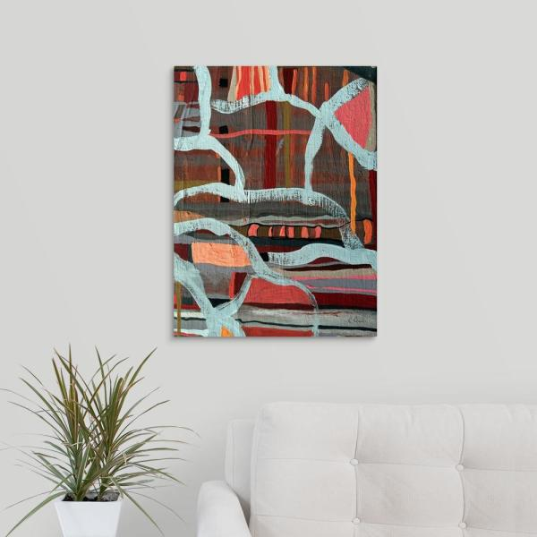 18 In X 24 In One Body Many Parts Iv By Ruth Palmer Canvas Wall Art