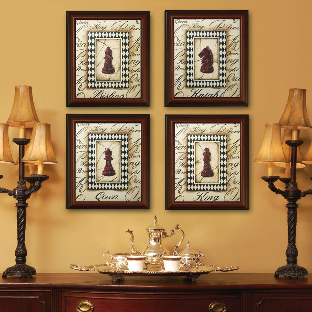 Timeless Frames Huntley 1 Opening 18 In X 24 In Walnut Picture