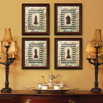 Huntley 1-Opening 11 in. x 14 in. Walnut Picture Frame