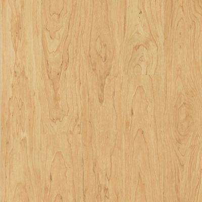 Take Home Sample - Northern Blonde Maple Laminate Flooring - 5 in. x 7 in.