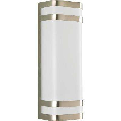 Valera Collection 2-Light Brushed Nickel Wall Lantern