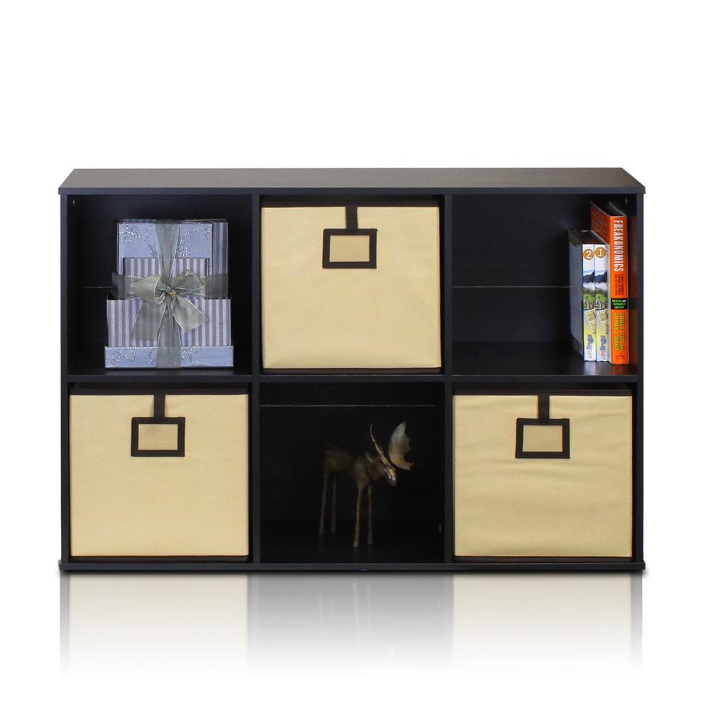 Econ Espresso Cube Open Shelves