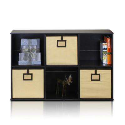 Econ Espresso Cube Open Shelves