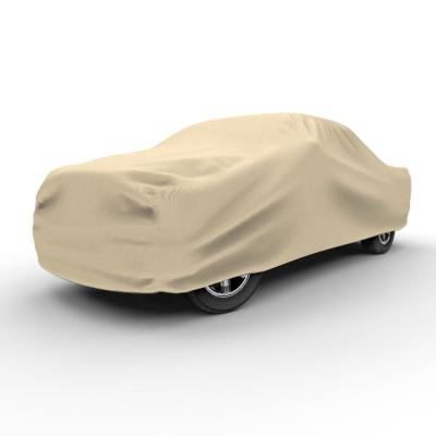 Tan, 4 Layers Budge Protector IV Station Wagon Cover Size S1 Fits Station Wagons up to 184 Long