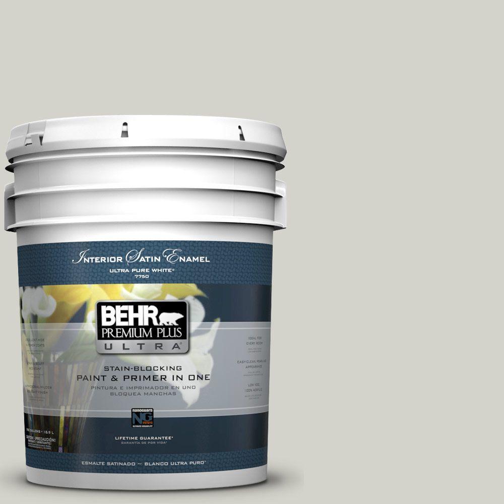 BEHR Premium Plus Ultra 5-gal. #N370-2 Eon Satin Enamel Interior Paint