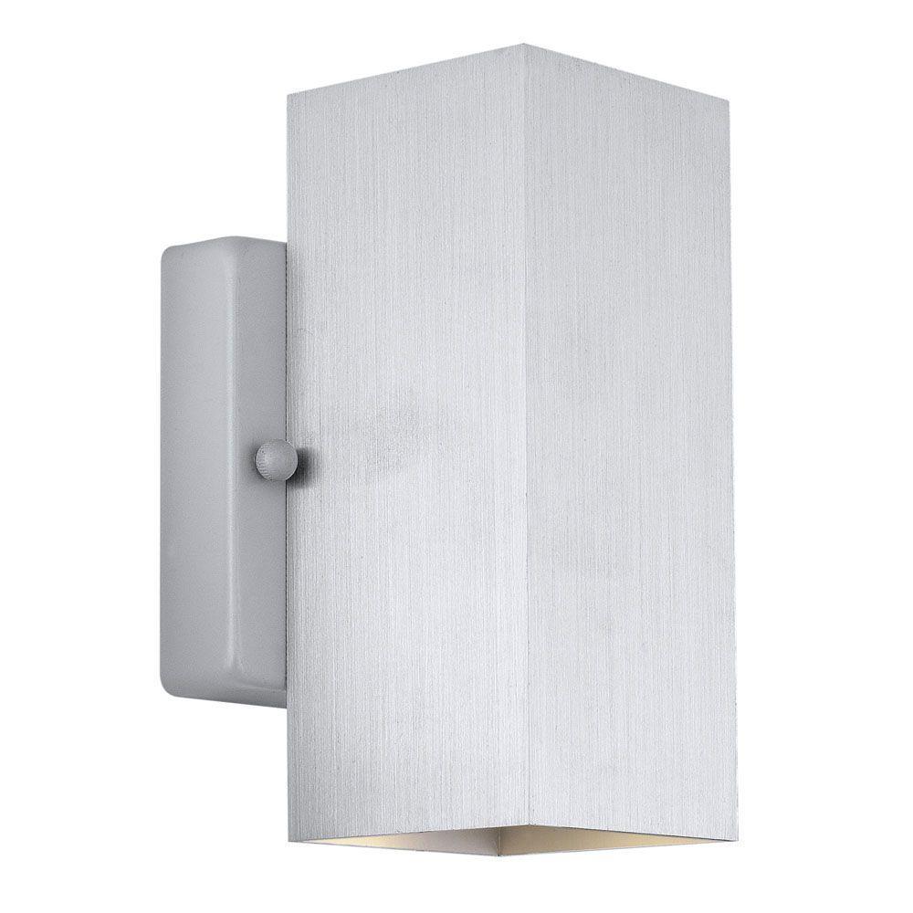 Madras 2-Light Aluminum Wall/Ceiling Light