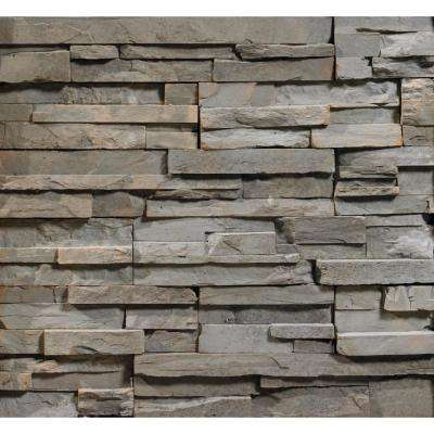 Dakota ProStack Lite Flats 2 in. to 8 in. x 6 in. x 20 in. Manufactured Stone Lite Flat 10 sf. ft. Pack