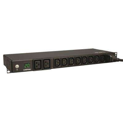 3.2-3.8kW Single-Phase Metered Power Distribution Unit