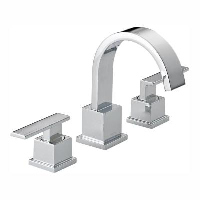 Vero 8 in. Widespread 2-Handle Bathroom Faucet with Metal Drain Assembly in Chrome
