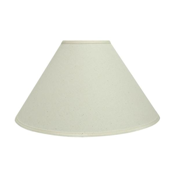 Aspen Creative Corporation 19 In X 12 In Off White Hardback Empire Lamp Shade 32204 The Home Depot