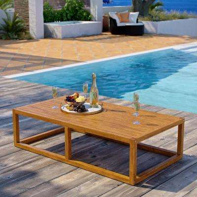 Newbury Natural Grade A Teak Wood Outdoor Coffee Table