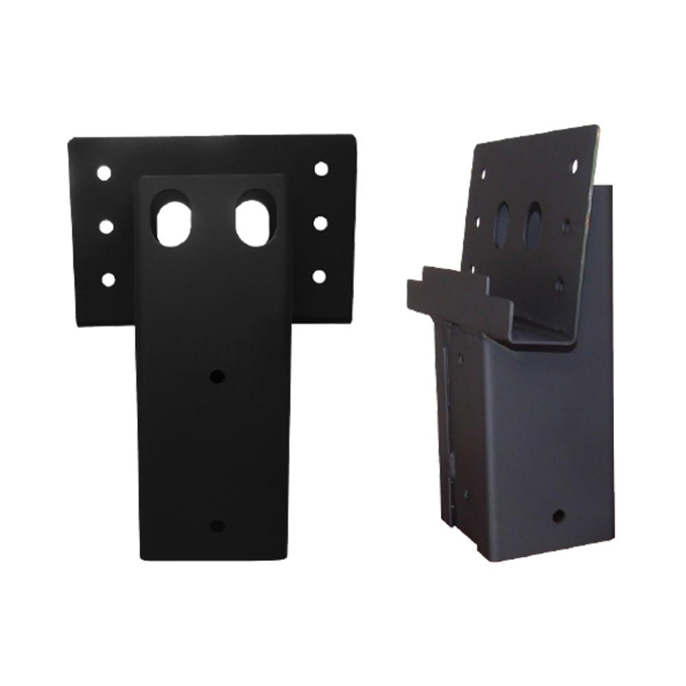 4 in. x 4 in. Single Angle Brackets (Set of 2)