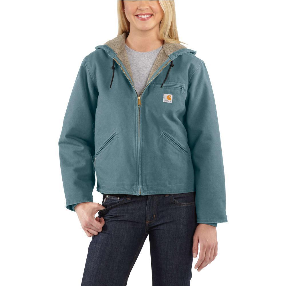 5337adf261ea8 Carhartt Women's XX-Large Sea Glass Sandstone Sierra Jacket-WJ141 ...