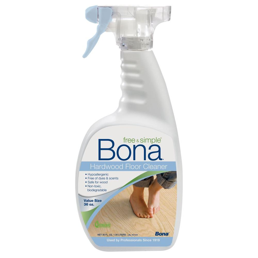 Bona 36 oz. Free and Simple Hardwood Floor Cleaner-DISCONTINUED