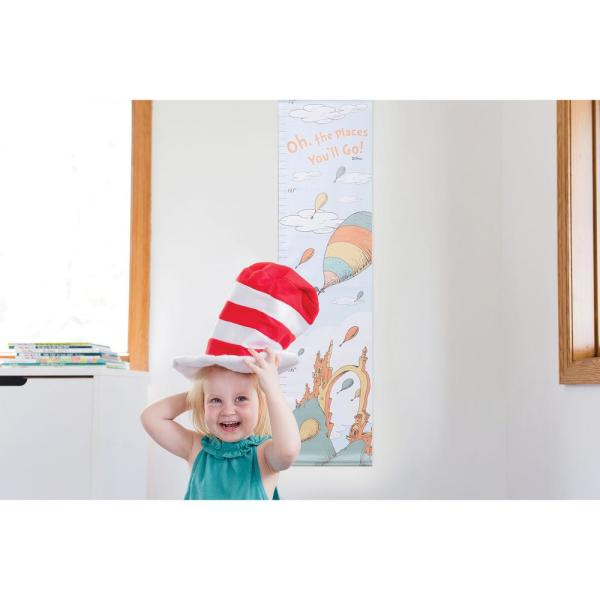 Seuss Oh 30166 Trend Lab Dr the Places You/'ll Go Canvas Growth Chart
