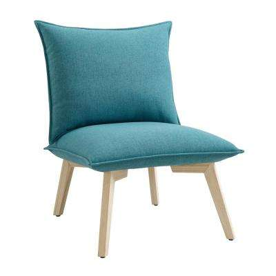 Clementine Blue Pillow Chair