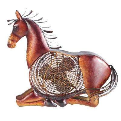 7 in. Figurine Fan-Horse