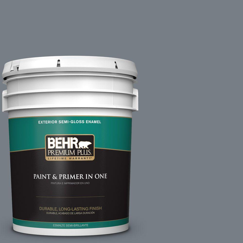 5-gal. #BNC-39 Peak Point Semi-Gloss Enamel Exterior Paint
