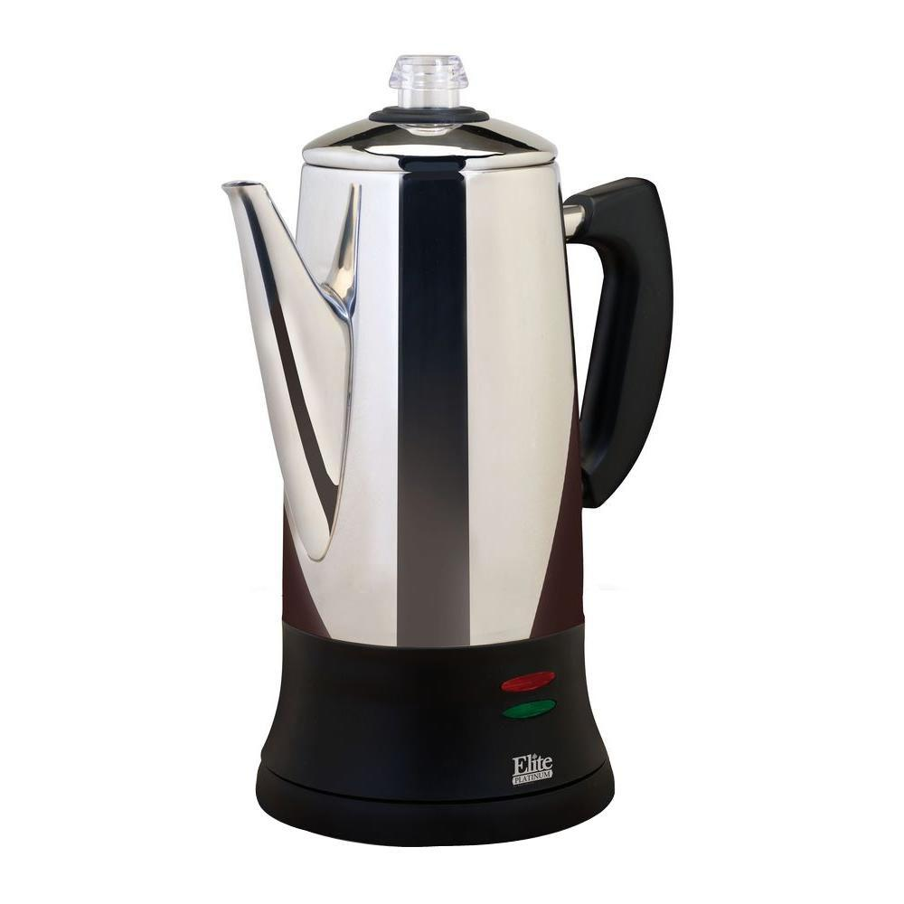 12-Cup Percolator, Stainless