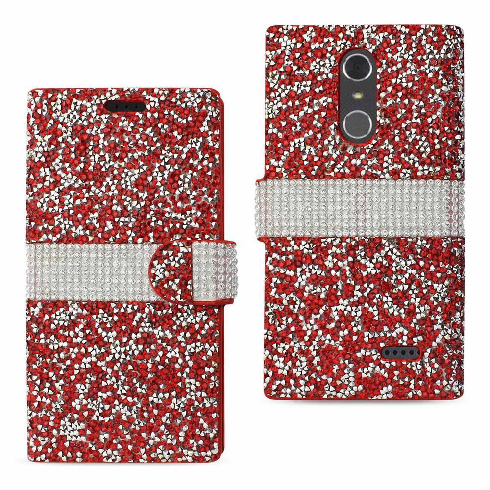 size 40 7a219 54e5e REIKO ZTE Grand X4 Rhinestone Case in Red