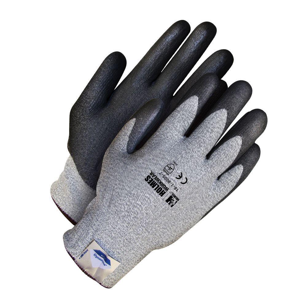 Holmes Workwear Size 11 2X-Large Grey Cut Resistant Glove with Dyneema