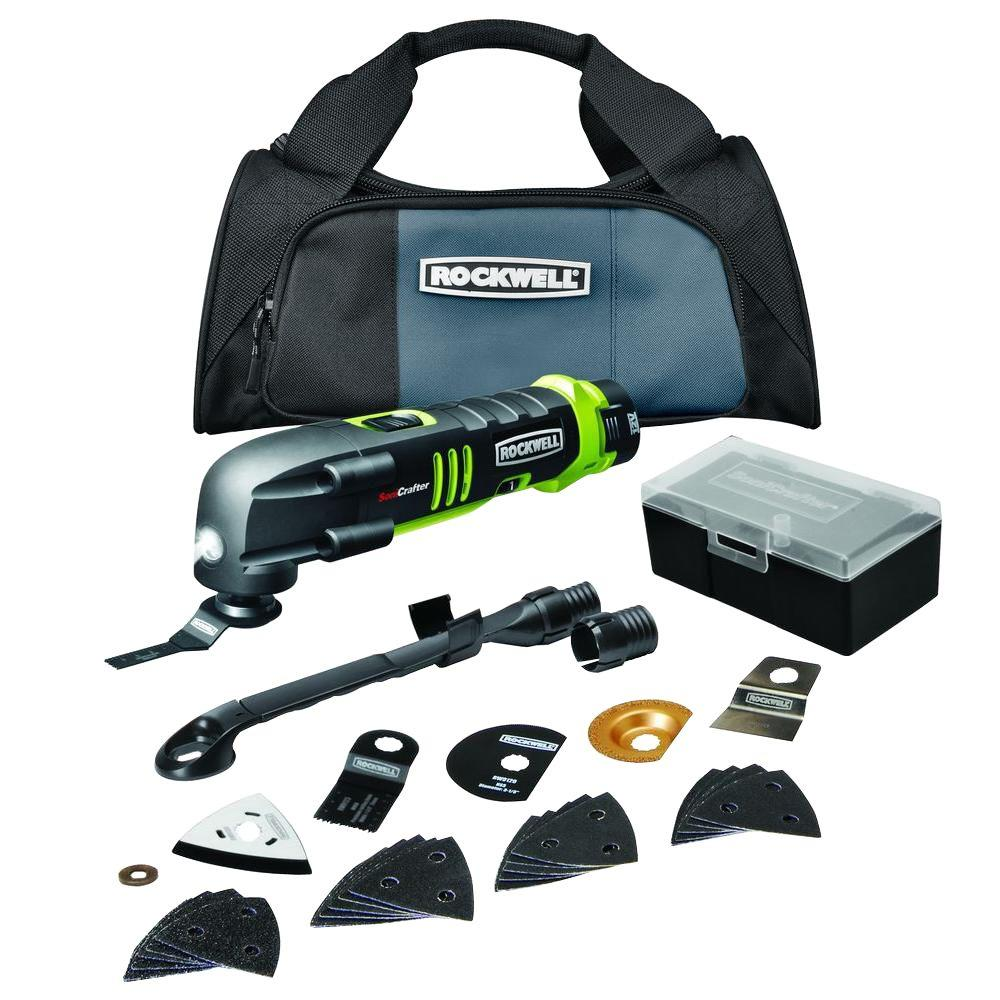 Rockwell 12-Volt Lithium-IonTech Sonicrafter Kit (28-Pieces)