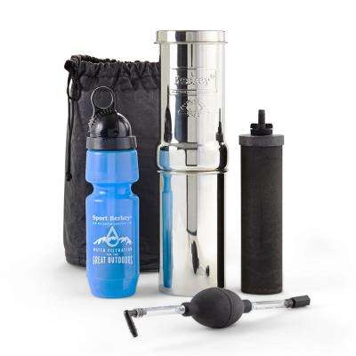 Go Berkey Kit with Water Filter Cartridge Included