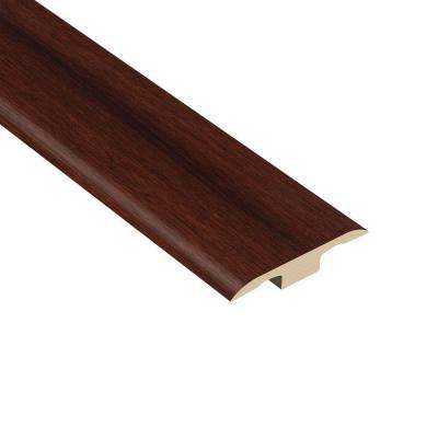 Strand Woven Bamboo Cognac 1/8 in. Thick x 1-3/8 in. Wide x 94-1/2 in. Length Vinyl T-Molding