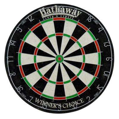 Winners Choice 18 in. Sisal Fiber Bristle Dartboard